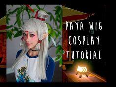 Cosplay Wig Tutorial | Paya Breath of the Wild - YouTube