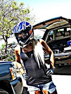 dirt bike girl - love a fellow female rider