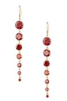 7 drops; I don't wear dangly earrings almost ever, but I would wear these babies