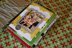 Make a booklet out of your holiday or occasion cards ~ great keepsake!!