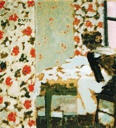 Edouard Vuillard, The Seamstress, 1893.                              …