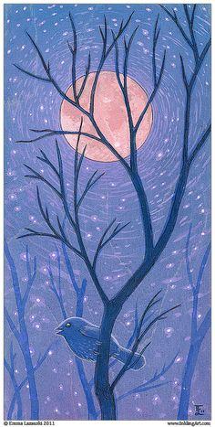 Night Bird by oddriddle, via Flickr