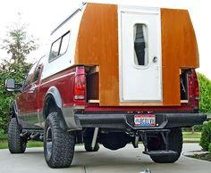 Flip-pac camper build - Page 6 - Expedition Portal Pickup Camping, Truck Bed Camping, Van Camping, Slide In Truck Campers, Build A Camper, Diy Camper, Trailer Tent, Camper Trailers, Homemade Camper