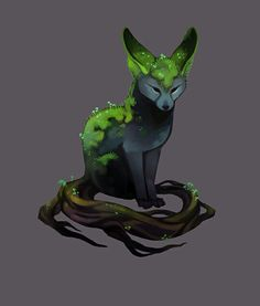 Fern  A mythical fox with tree platform or birth.  Is beautiful and has sweet scent. Friends of all animals.   Is open for rp