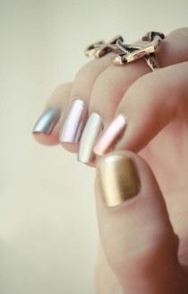 Metallics #nailpolish #art