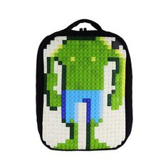 Pixel Laptop Backpack Cream, $59, now featured on Fab.