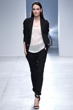 Anthony Vaccarello Spring 2014 Ready-to-Wear Collection Slideshow on Style.com