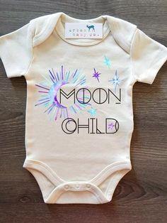 Moon Child Organic Baby Onesie® – Urban Baby Co.