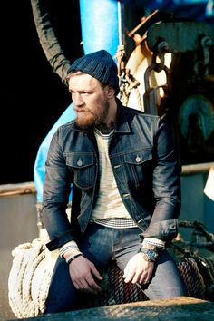 Conor Mcgregor~Irish, beard, athletic, hot, enough said!!