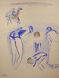 Kees van Dongen - Deauville (1930)