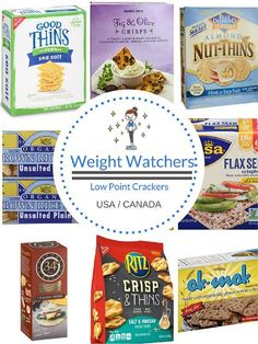 of the questions that I see a lot on the Weight Watchers forums is whether there are low SmartPoint crackers on the Freestyle / Flex plan. Well, yes there are! With this roundup of lower point crackers, you won't blow your SmartPoint budget if the craving Weight Watchers Snacks, Weight Watchers Tipps, Weight Watchers Smart Points, Weight Watchers Vegetarian, Weight Watchers Program, Weight Watchers Books, Weight Watchers Pasta, Weight Watcher Smoothies, Weigt Watchers