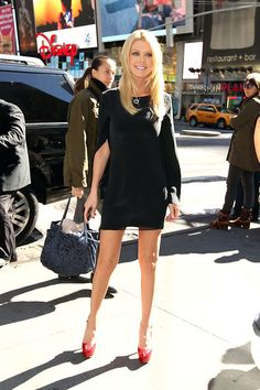 Tara Reid looking super sexy in the black Backstage Clothing Dress!