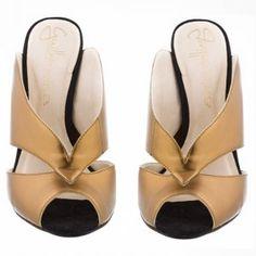 Sand�lia Cobre #guilhermina shoes #duza #ss2015