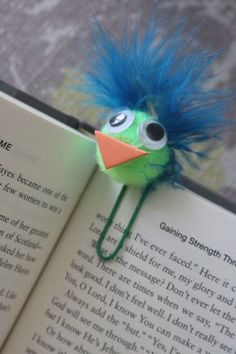 fun bookmark for kids to make and give as gifts