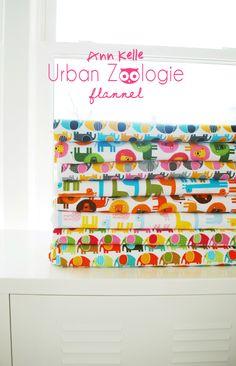 urban zoologie flannel / ann kelle