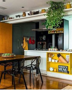 Espaço Gourmet com uma decoração linda, moderna e alegre.. 🍳🍝😍 #design #arquitetura #arqeurb #ambiente #móveis #decoração #instadecor #homedecor #projeto #residência #dicas #inspirações #casa #estilo #decor #diy #lovedesign #arqlove #qinove