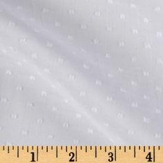 Michael Miller Clip Dot White