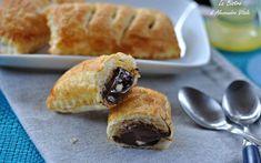 Sfogliatine alla gianduia e cioccolato bianco, ricetta dolce