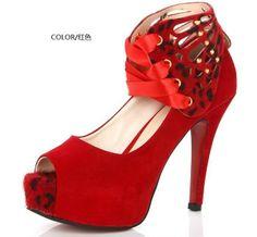 New 2014 Spring&Summer Women Pumps Sexy High Heel Shoes Sapatos Femininos Ladies Shoes Platforms  $26.99