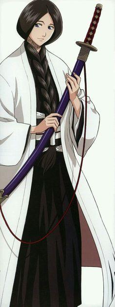 Unohana Retsu. Inuyasha Cosplay, No Taizai, Naruto Shippuden, Sad Anime, Manga Anime, Anime Art, Bleach Fanart, Bleach Manga, Anime Comics