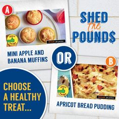 Which one would you choose as a #healthy treat? Repin for your chance to win, as part of our #ShedThePounds competition Healthy Foods To Eat, How To Stay Healthy, Healthy Eating, Healthy Recipes, Mini Apple, Giveaways, Competition, Shed, Treats