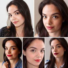 Lipstick Challenge: week four Tarte lipstick in Exposed, Lipstick Queen in Medieval, Rimmel Kate Moss #8