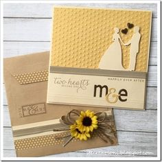 Ste creazioni: Wedding card - parte II