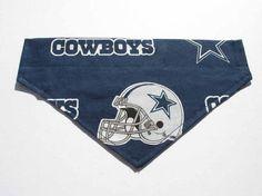 Cowboys Football Dog Bandana Dog Costume Sports by CookiesDogHouse