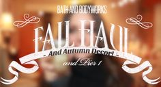 "Watch my new ""Fall Haul and Decor: Thanksgiving Table Setting"" video with amazing scents and candles from Bath and Bodyworks, plus ""pumpkin porn"" on my dining room table ;)"