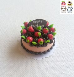 Hey, I found this really awesome Etsy listing at https://www.etsy.com/listing/195683270/polymer-clay-cake-miniature-cake-food