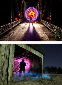 Light Paintings by Dennis Calvert | Inspiration Grid | Design Inspiration