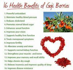 Benefits of Goji Berries