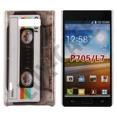 StoryLine (Retro Tape) LG Optimus L7 Cover