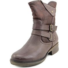 Hailie Women Round Toe Synthetic Mid Calf Boot ** You can get more details by clicking on the image. (This is an affiliate link) #MidCalf