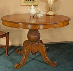 Tischplatte zum Ausziehen auf  160 cm, Schelllackpolierung