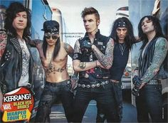 | BVB in Kerrang! | Black Veil Brides
