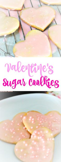 Valentines Sugar Cookies Recipe  #valentines #cookie #recipe via @OCRaquel