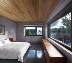 Concret&Wood bedroom