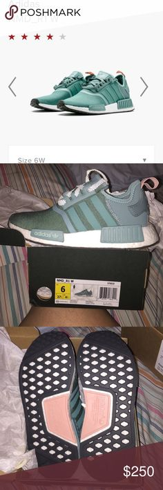 844f8dd79 Nmd Adidas  NEW  Vapour steel teal NMD Adidas Adidas Shoes Sneakers