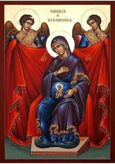 Many beautiful pictures of Our Lady for May Orthodox Catholic, Orthodox Christianity, Catholic Art, Religious Images, Religious Icons, Religious Art, Byzantine Icons, Byzantine Art, Church Icon