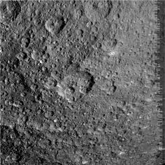 Raw image of Rhea taken by Cassini probe on March 10, 2012 and received on Earth March 12, 2012. The camera was pointing toward RHEA at approximately 47,459 kilometers away. This image has not been validated or calibrated. A validated/calibrated image will be archived with the NASA Planetary Data System in 2013.