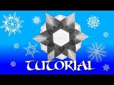 Origami Snowflake / Star Tutorial - YouTube