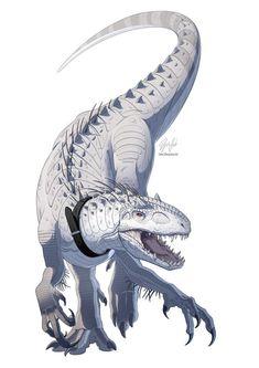 Dinosaur Sketch, Dinosaur Drawing, Dinosaur Art, Dinosaur Nursery, Jurassic World Indominus Rex, Jurassic Park World, Mythical Creatures Art, Prehistoric Creatures, Creature Drawings