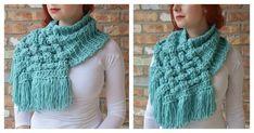 Tutorial >> DIY The Celtic Crochet Woven Cowl