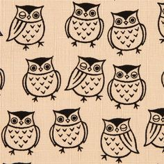 http://www.kawaiifabric.com/en/p5944-ecru-structured-owl-fabric-by-Cosmo-from-Japan.html