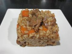 Arroz con Carrillada Iberica.