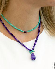Handmade Wire Jewelry, Boho Jewelry, Jewelry Crafts, Beaded Jewelry, Jewelery, Jewelry Necklaces, Fashion Jewelry, Jewelry Design, Diy Necklace