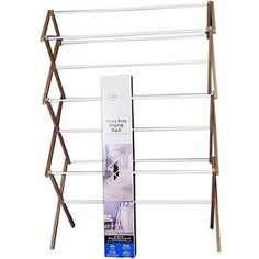 Clothes Drying Rack Walmart Simple Mainstays 235' Drying Rack  Easy Storage Save Energy And Laundry Design Decoration