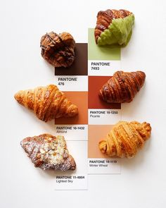 """Dreaming about colorful French pastries and breakfast in bread. Er, we mean """"bed."""" 🥐 What's your favorite on-the-go breakfast? Food Graphic Design, Food Poster Design, Menu Design, Food Design, Cafe Food, Food Menu, Cafeteria Menu, Cronut, Café Bar"""