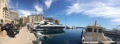Cap d'Ail hier kann man gut wohnen und in 15 Minuten zu Fuß ist man in Monacco. Ein kleiner nicht aufregnder Vorort aber wer den Blick auf große Boote liebt kann direkt mit Blick auf diese wohnen